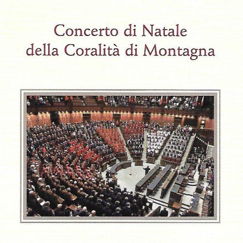 – Concerto di Natale della Coralità di Montagna – Aula di Montecitorio (2010)