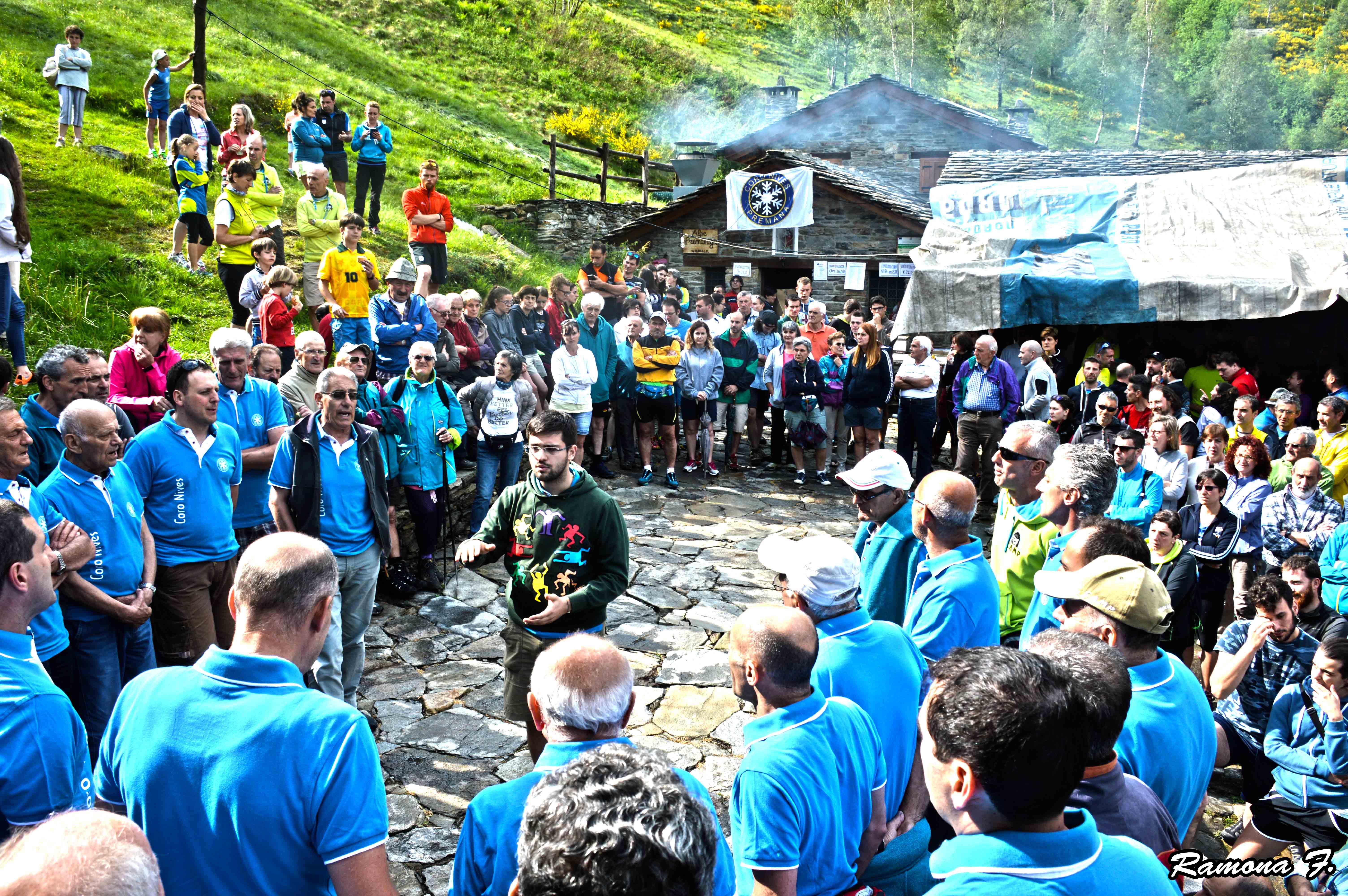 Tradizionale Past all'alpe Fraina