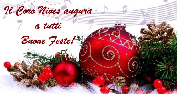 Il Coro Nives augura buone feste!