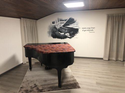 Inaugurazione aula Maestro Francesco Sacchi